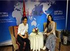何良庆先生,接受CCTV—华人频道人物专访